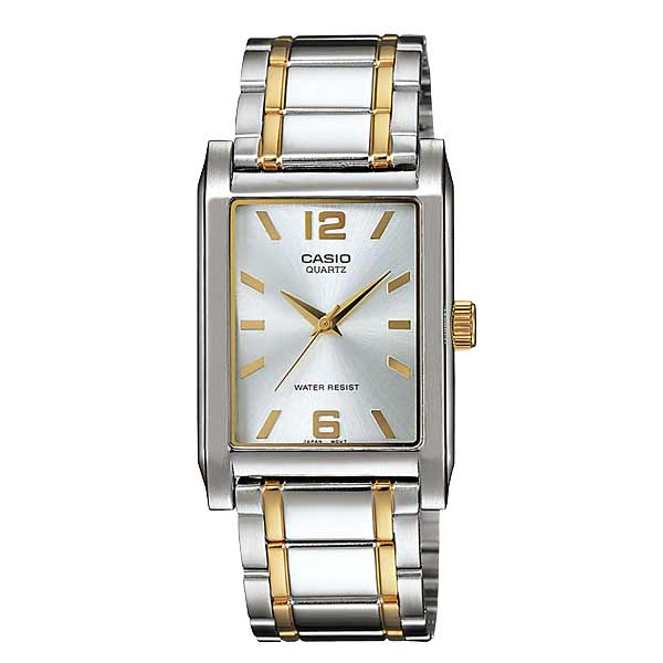Casio MTP-1235SG-7ADF Quartz Mens Silver/Gold