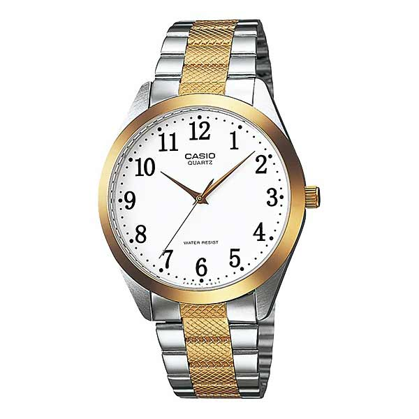 Casio MTP-1274SG-7BDF Quartz Mens Silver/Gold