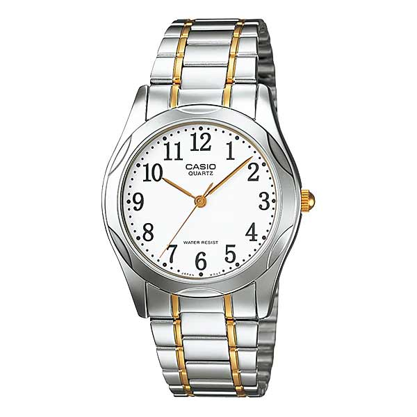 Casio MTP-1275SG-7BDF Quartz Mens Silver/Gold