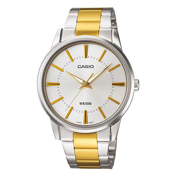 Casio MTP-1303SG-7AVDF Quartz Mens Silver/Gold