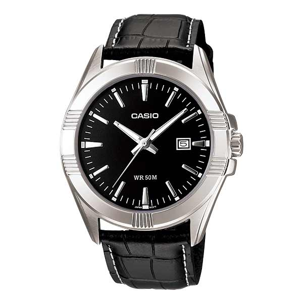 Casio MTP-1308L-1AVDF Quartz Mens Leather