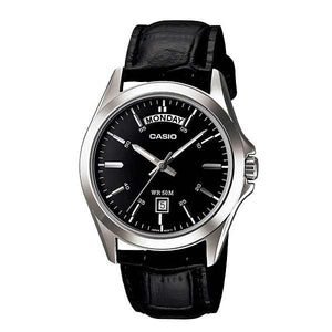 Casio MTP-1370L-1AVDF Quartz Mens Leather