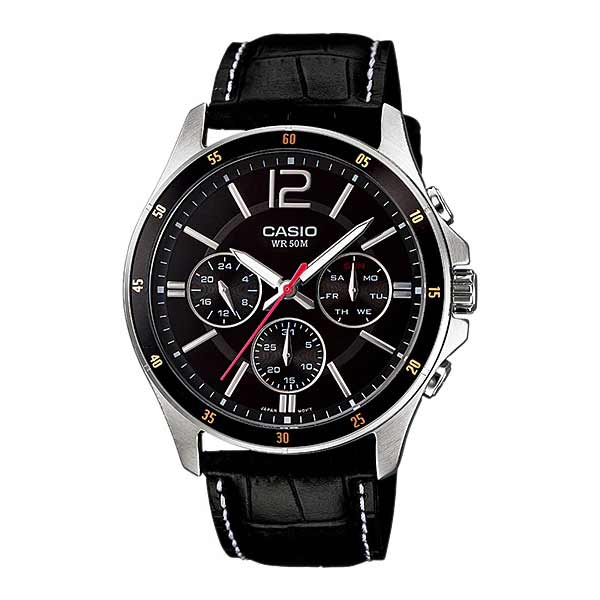 Casio MTP-1374L-1AVDF Quartz Mens Leather