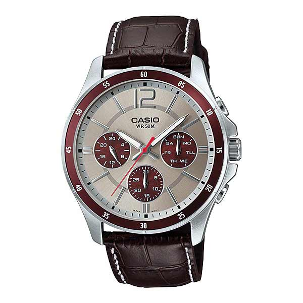 Casio MTP-1374L-7A1VDF Quartz Mens Leather