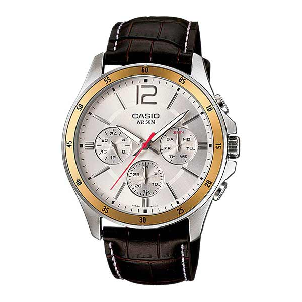 Casio MTP-1374L-7AVDF Quartz Mens Leather