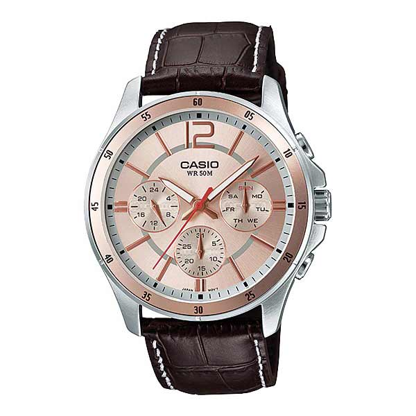 Casio MTP-1374L-9AVDF Quartz Mens Leather