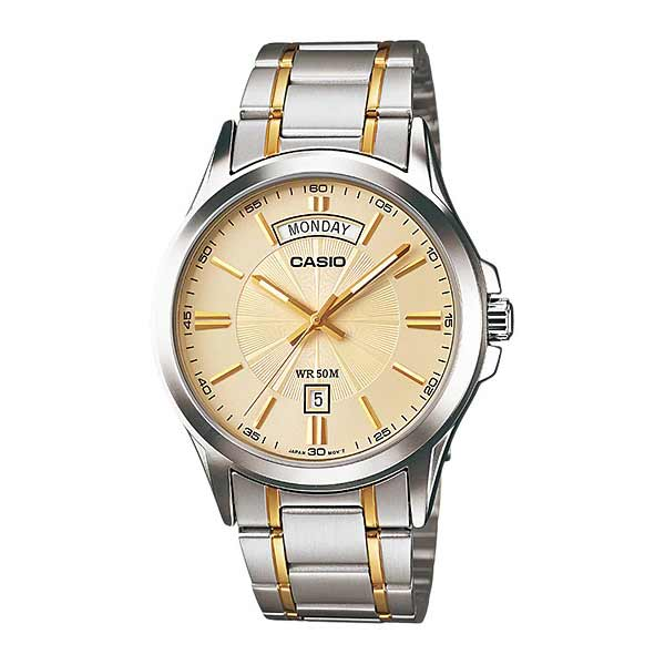 Casio MTP-1381G-9AVDF Quartz Mens Gold