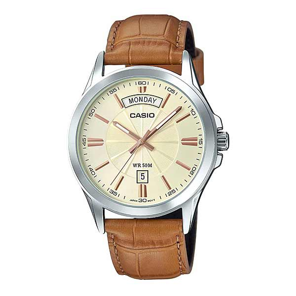 Casio MTP-1381L-9AVDF Quartz Mens Leather