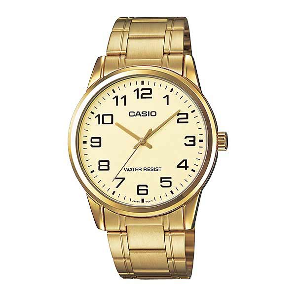 Casio MTP-V001G-9BUDF Quartz Mens Gold