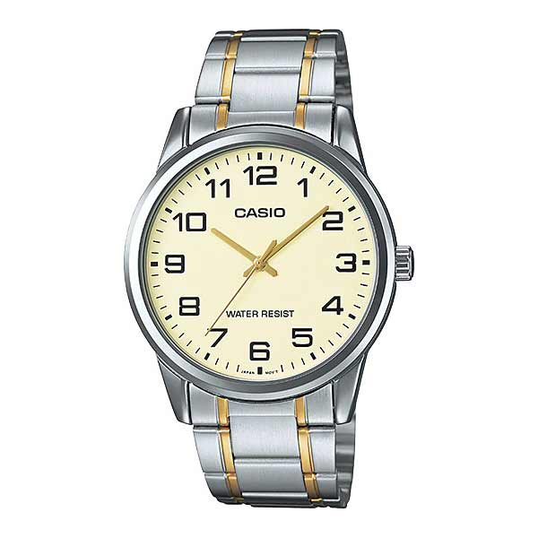 Casio MTP-V001SG-9BUDF Quartz Mens Silver/Gold