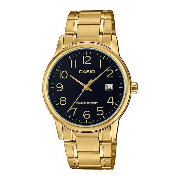 Casio MTP-V002G-1BUDF Quartz Mens Gold