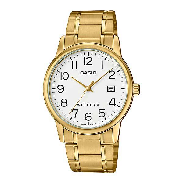 Casio MTP-V002G-7B2UDF Quartz Mens Gold