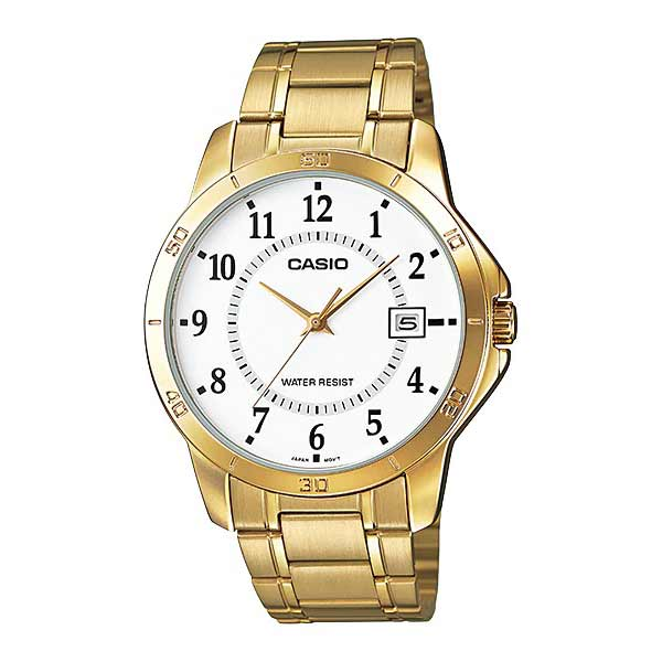 Casio MTP-V004G-7BUDF Quartz Mens Gold