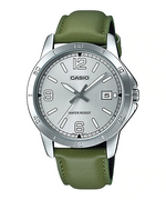 Casio MTP-V004L-3BUDF Quartz Mens Leather