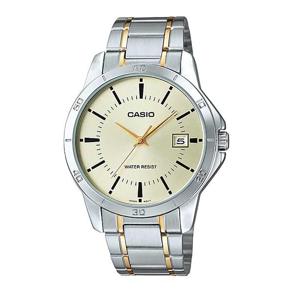 Casio MTP-V004SG-9AUDF Quartz Mens Silver/Gold
