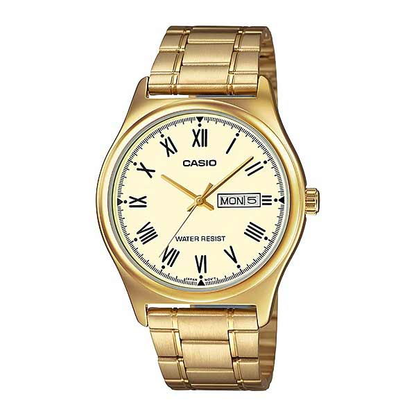Casio MTP-V006G-9BUDF Quartz Mens Gold