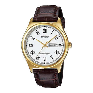 Casio MTP-V006GL-7BUDF Quartz Mens Leather