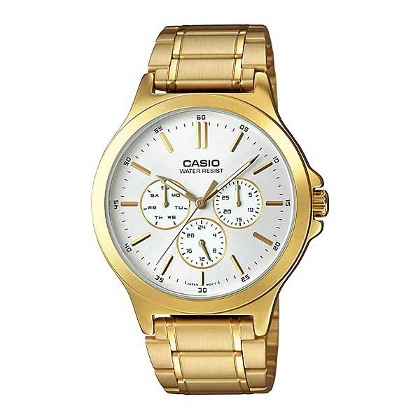 Casio MTP-V300G-7AUDF Quartz Mens Gold