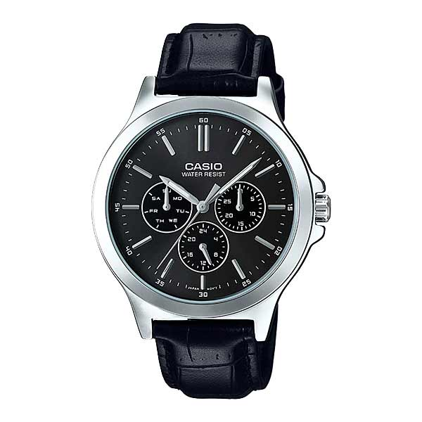 Casio MTP-V300L-1AUDF Quartz Mens Leather