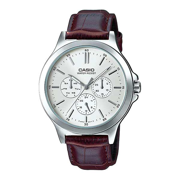 Casio MTP-V300L-7AUDF Quartz Mens Leather