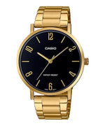 Casio MTP-VT01G-1B2UDF Quartz Mens Gold Water Resist
