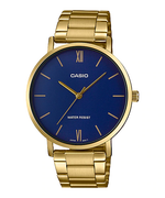 Casio MTP-VT01G-2BUDF Quartz Mens Gold