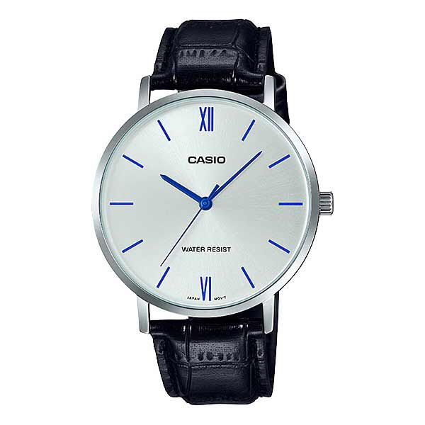 Casio MTP-VT01L-7B1UDF Quartz Mens Leather