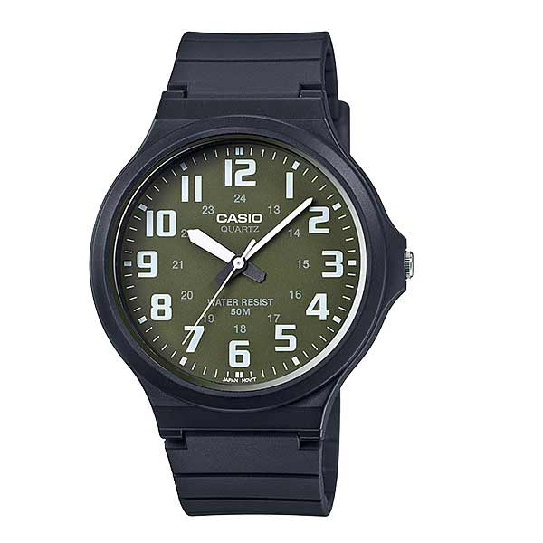 Casio MW-240-3BVDF Quartz Mens Resin