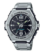 Casio MWA-100HD-1AVDF Quartz Mens Silver 100m