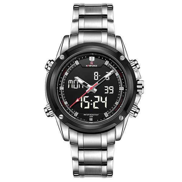 Naviforce 9050 Mens Stainless Steel Watch