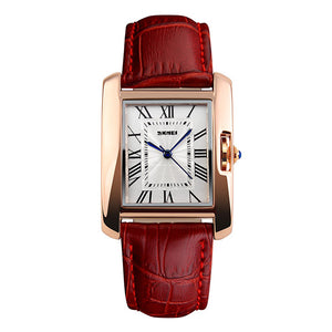 SKMEI 1085 Womens Leather Watch