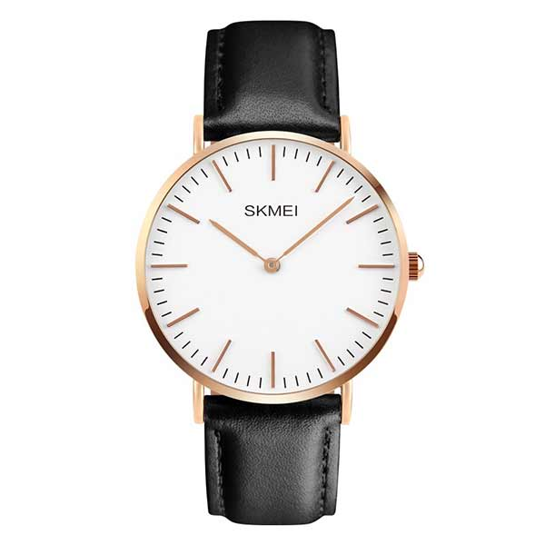 SKMEI 1181 Unisex Leather Watch