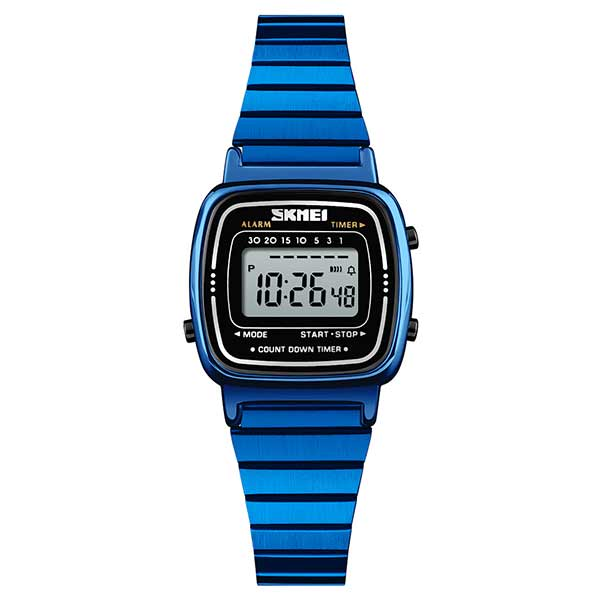 SKMEI 1252 Womens Digital Stainless Steel Watch