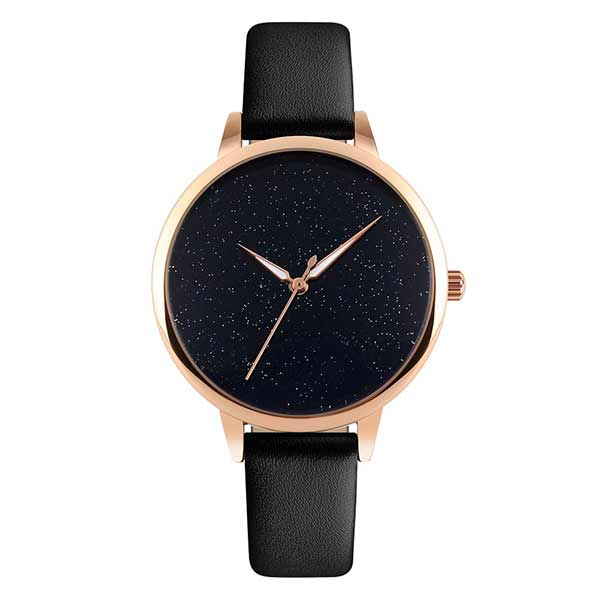 SKMEI 9141 Womens Leather Watch