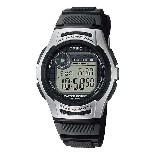 Casio W-213-1AVDF Digital Mens Resin