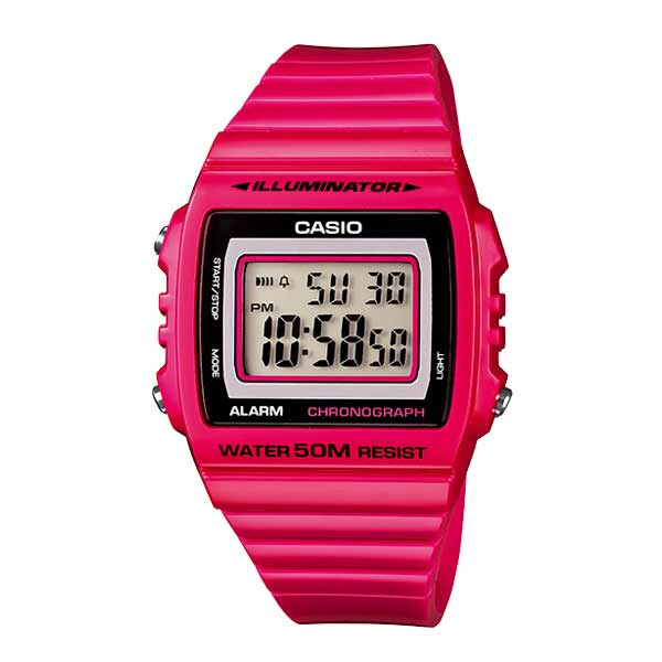 Casio W-215H-4AVDF Digital Unisex Resin