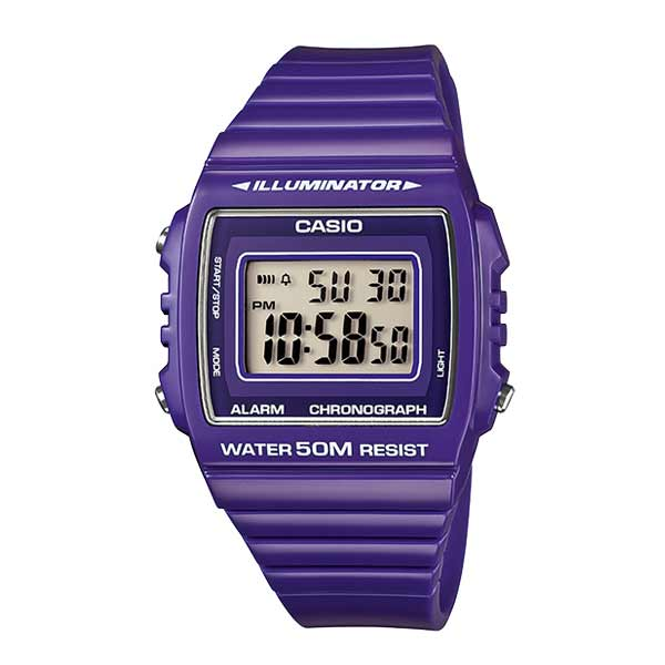Casio W-215H-6AVDF Digital Unisex Resin