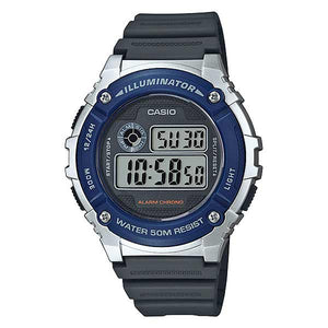 Casio W-216H-2AVDF Digital Mens Resin