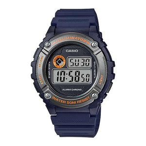 Casio W-216H-2BVDF Digital Mens Resin