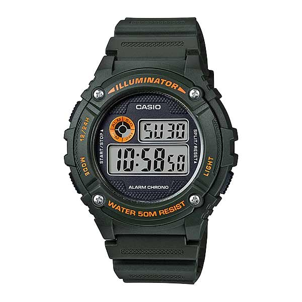 Casio W-216H-3BVDF Digital Mens Resin