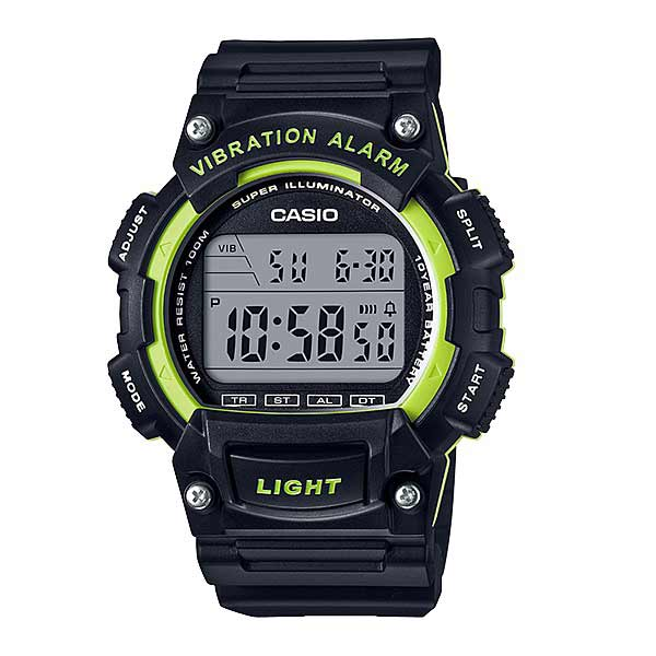 Casio W-736H-3AVDF Digital Mens Resin
