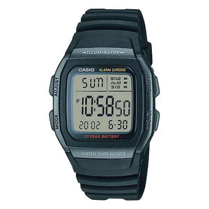 Casio W-96H-1BVDF Dual Display Mens Resin