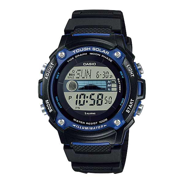 Casio W-S210H-1AVDF Solar Mens Resin