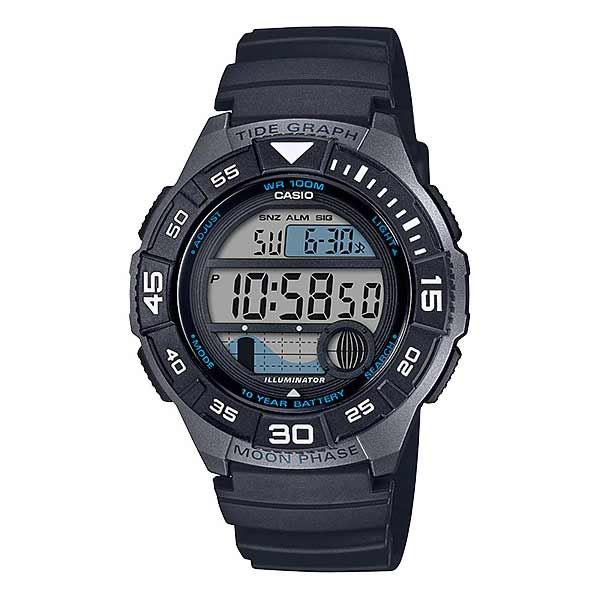 Casio WS-1100H-1AVDF Digital Mens Resin