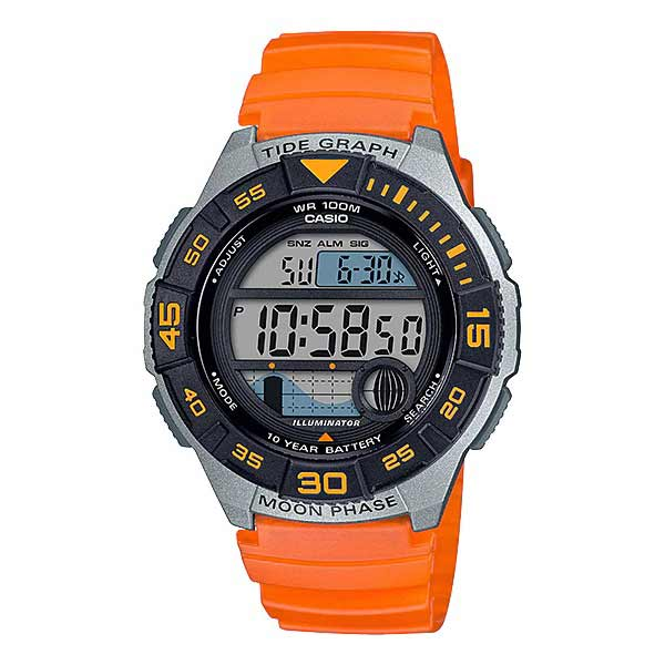 Casio WS-1100H-4AVDF Digital Mens Resin