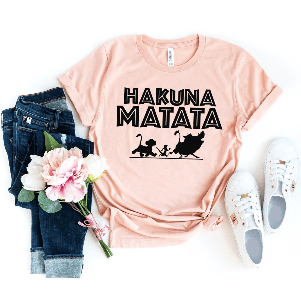 Disney Shirts, Hakuna Matata Shirt, Disney Shirts For Women, Disney Animal Kingdom Shirt, Disney Family Shirts