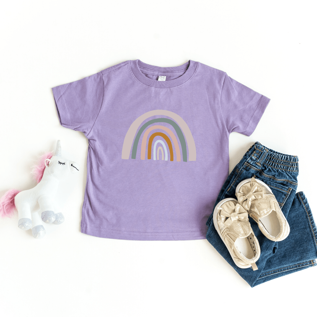Mommy and Me Rainbow Shirts, Mother Daughter Matching Shirts, Mommy and Me Outfit, Rainbow Toddler Tee, Rainbow Baby Bodysuit, Lavender