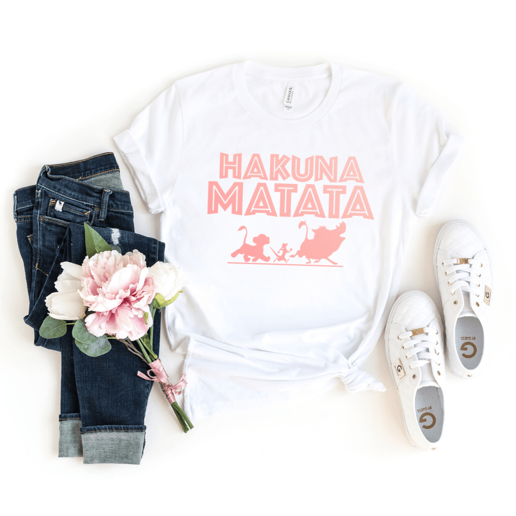 Disney Shirts, Hakuna Matata Shirt, Disney Shirts For Women, Disney Tank Top, Disney Animal Kingdom Shirt, Disney Family Shirts, Disney Tank