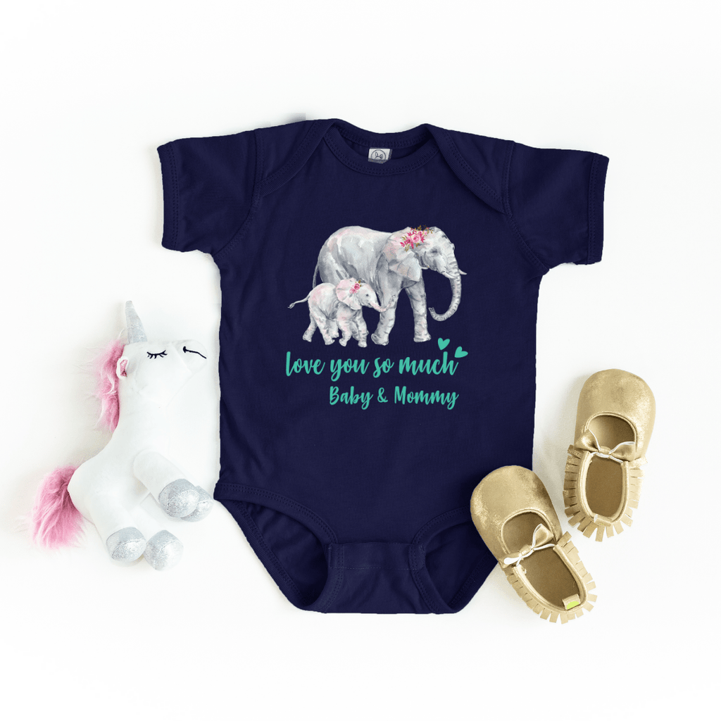 Mommy and Me outfits Shirt Set Mama Elephant Baby Shirts Mother and Daughter Shirts Mothers Day Shirts Mothers Day shirt for mom