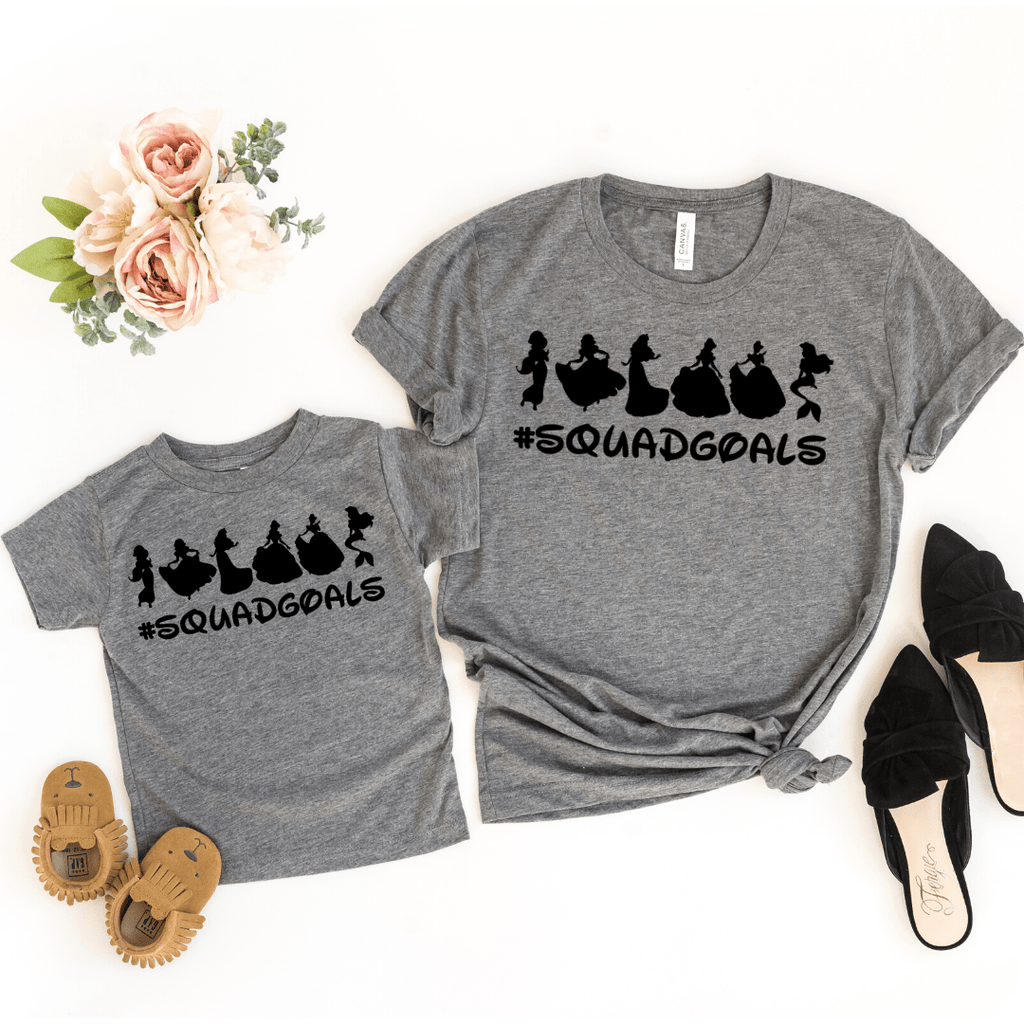 Disney Squad Goals Shirt, Mommy and Me shirts, Disney Clubhouse Shirts, Disney Family Shirts, Squad Goals Shirt, Family Disney T-shirt, Matching Family Disney